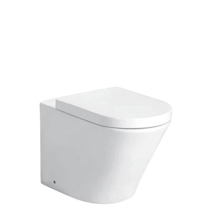 CORA IN WALL CISTERN TOILET SUITE - CB1088-P/S/pipe