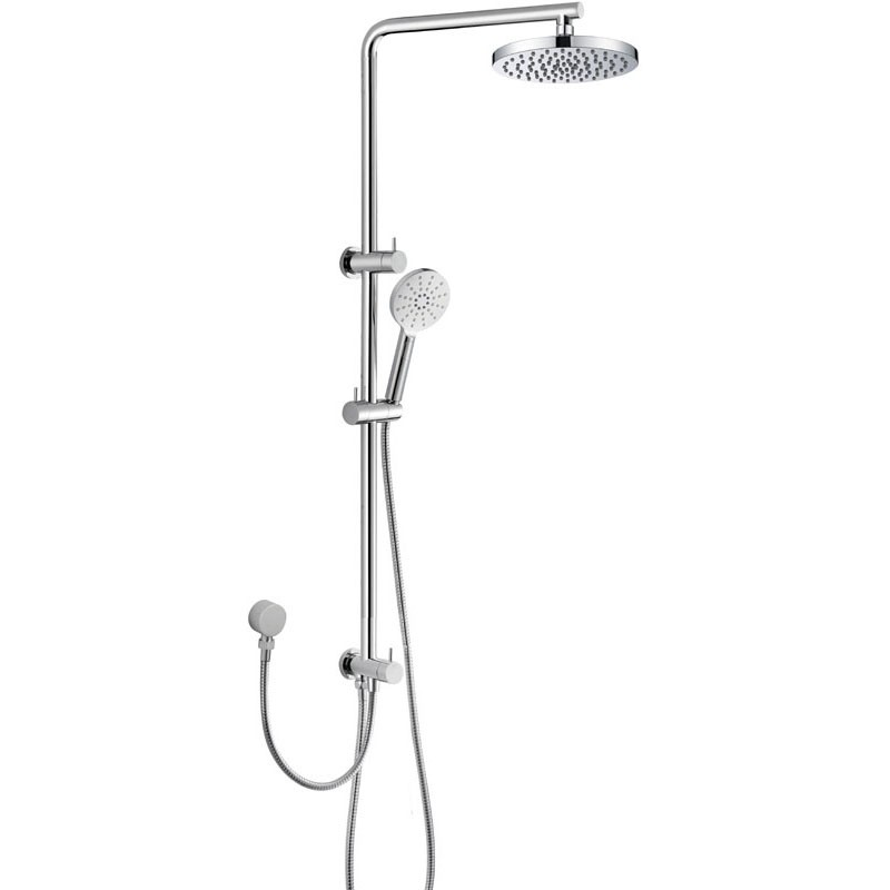 cora round multi function shower set  two hoses