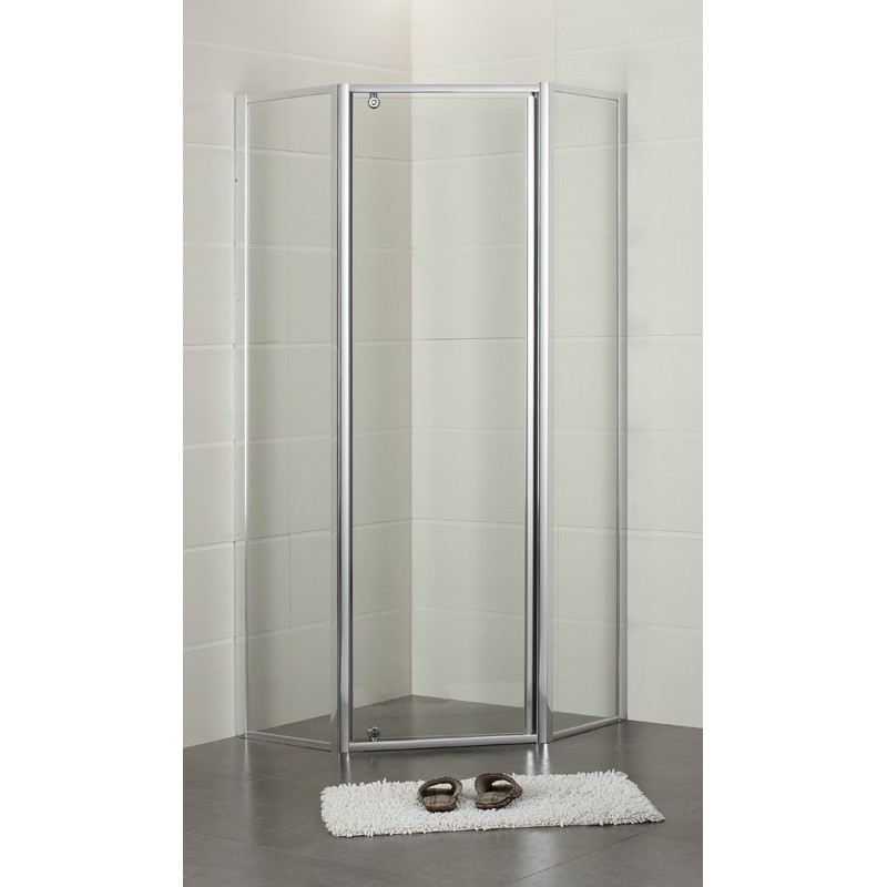 DIAMOND SEMI-FRAME SHOWER SCREEN SET - PLT-6002