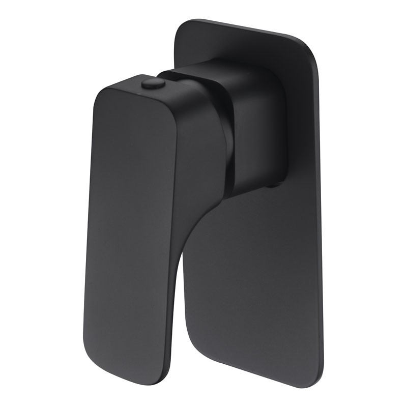 EDEN SOFT SQUARE BATH/SHOWER MIXER BLACK - PSL3001-B