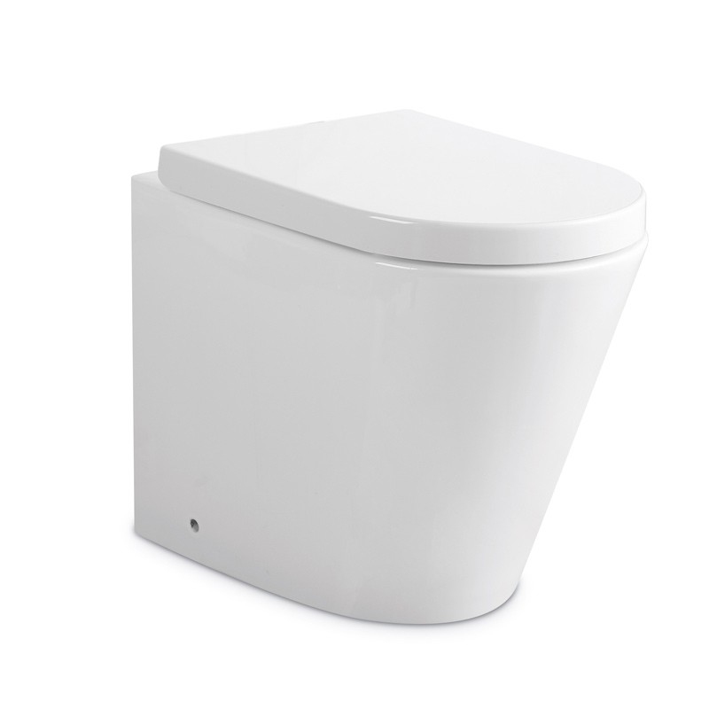 RUKI RIMLESS IN-WALL CISTERN TOILET SUITE - PTW1012