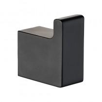 CERAM ROBE HOOK MATT BLACK - 55606-MB