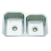 UNDER MOUNT,1 3/4 BOWL SINK - DB3119