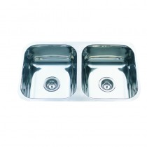 UNDER MOUNT,DOUBLE BOWL SINK - DB560A