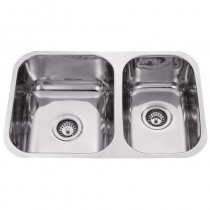UNDER MOUNT,1 & 3/4 BOWL SINK - DB568A