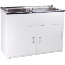 DOUBLE BOWL LAUNDRY TUB - DB652B