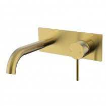 IKON/ HALI WALL BASIN MIXER WITH SPOUT BG - HYB88-602BG
