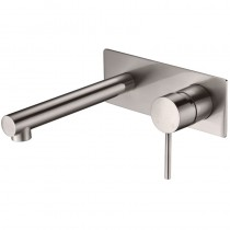 IKON/ HALI WALL BASIN MIXER WITH SPOUT BN - HYB88-601BN