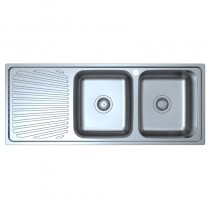 OTUS DOUBLE BOWL & SINGLE DRAINER KITCHEN SINK - P0011848-2RHB