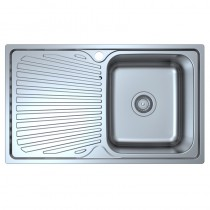OTUS SINGLE BOWL & SINGLE DRAINER KITCHEN SINK - P008048-2LHB