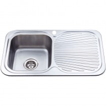 CORA SINGLE BOWL & SINGLE DRAINER KITCHEN SINK - P780LHB