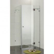 SQUARE FRAMELESS SHOWER SCREEN SET 900*900*1950 - PLT-1001