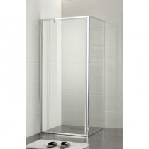 SQUARE  SEMI-FRAME SHOWER SCREEN SET - PLT-4002