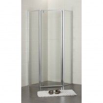 DIAMOND SEMI-FRAME SHOWER SCREEN SET - PLT-6001