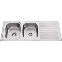 DOUBLE BOWL SINK - PN1180A-LHB