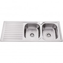 DOUBLE BOWL SINK - PN1180A-RHB