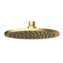 CORA ROUND BRASS SHOWER HEAD BG 200mm - PRB1056N-BG