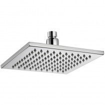 EDEN SQUARE BRASS SHOWER HEAD 200mm - PRB1067