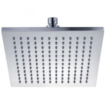 ROSA SQUARE PLASTIC SHOWER HEAD 200mm - PRP1025-1N