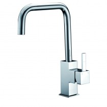 SARA SQUARE HANDLE RISE SINK MIXER - PS-1001SB
