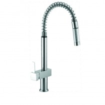 SARA SQUARE HANDLE PULL-OUT SINK MIXER - PS1004SB
