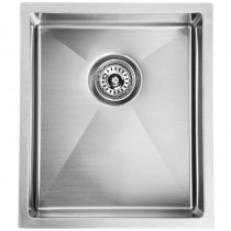 EDEN SINGLE BOWL ABOVE / UNDERMOUNT SINK (R10 CORNER) - PS340R