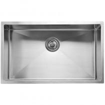 EDEN SINGLE BOWL ABOVE / UNDERMOUNT SINK (R10 CORNER) - PS720R