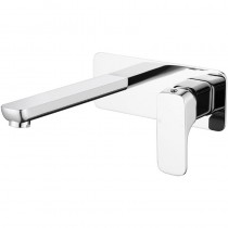 EDEN SOFT SQUARE BATH MIXER WITH SPOUT - PSL3003