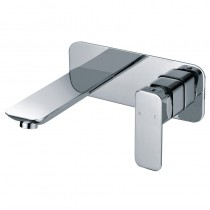 NOVA NEW WALL BASIN MIXER WITH SPOUT - PSR3006SB