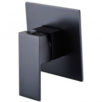 ROSA BLACK SQUARE BATH/SHOWER MIXER - PSS3001SB-B